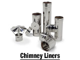 Chimney Liners Installing a stainless steel or aluminum liner can prevent chimney deterioration and ensure proper venting of dangerous fumes.
