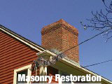 Masonry Restoration We can repair areas of crumbling mortar in your chimney (grind and point) or completely rebuild your chimney from the roofline up if needed. Call today to schedule a free estimate.
